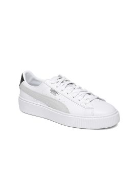 White Basket Euphoria Sneakers