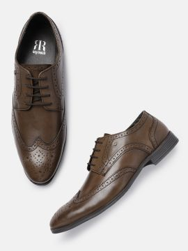 Brown Formal Leather Brogues
