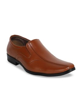 Tan Brown Formal Loafers