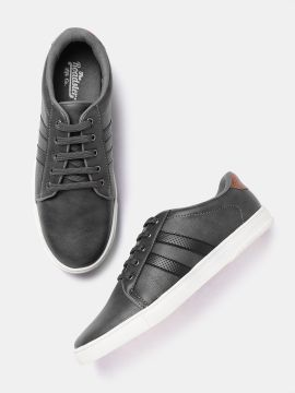 Charcoal Grey Sneakers