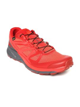 Red SENSE RIDE GTX INVISIBLE FIT Running Shoes