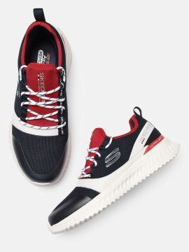 Navy Blue & Red MATERA 2.0 Sneakers