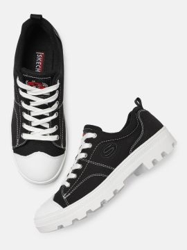 Black & White ROADIES Sneakers