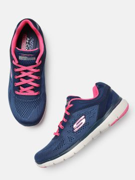 Navy Blue FLEX APPEAL 3.0 Sneakers