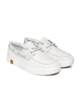 AMHERST Boat White Boat Shoes