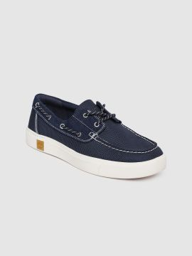 Blue AMHERST Boat Shoes