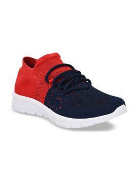 Navy Blue Airy Series Mesh Walking Shoes