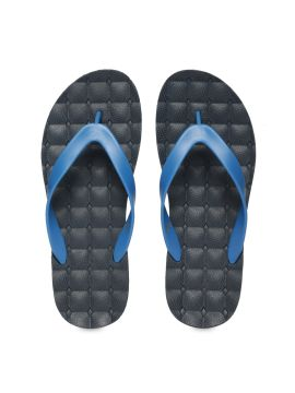 Blue Solid Thong Flip-Flops