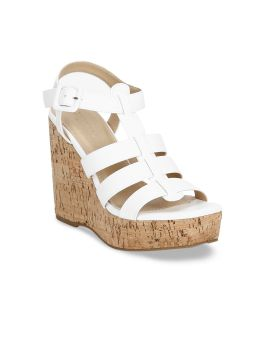 White Solid Wedges