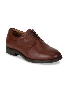 Brown Leather Derbys
