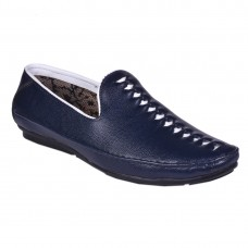 ETHINIC BLUE LOAFER