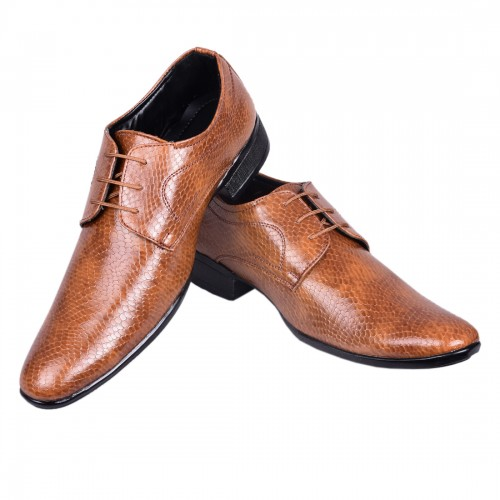 DERBY TAN PARTY SHOES