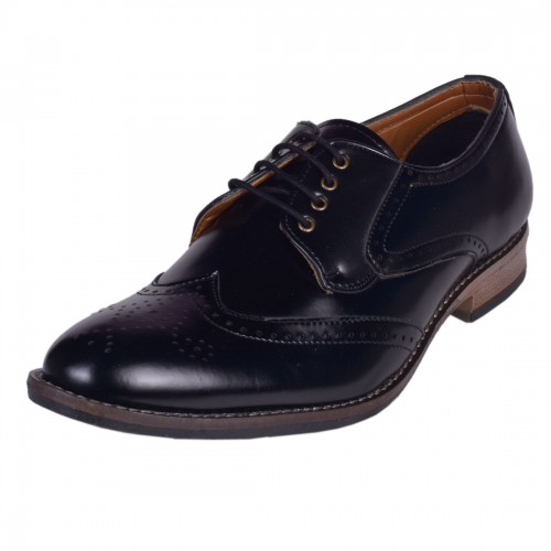 BLACK FORMAL BROGUE