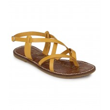 WOMEN YELLOW SANDAL