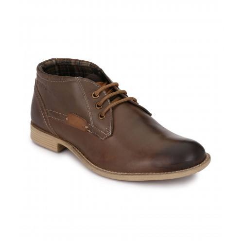 MENS ROSEWOOD ANKLE SHOES