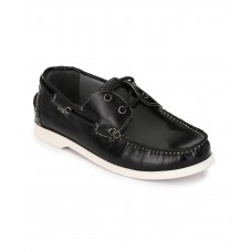 BOAT SHOE BLACK
